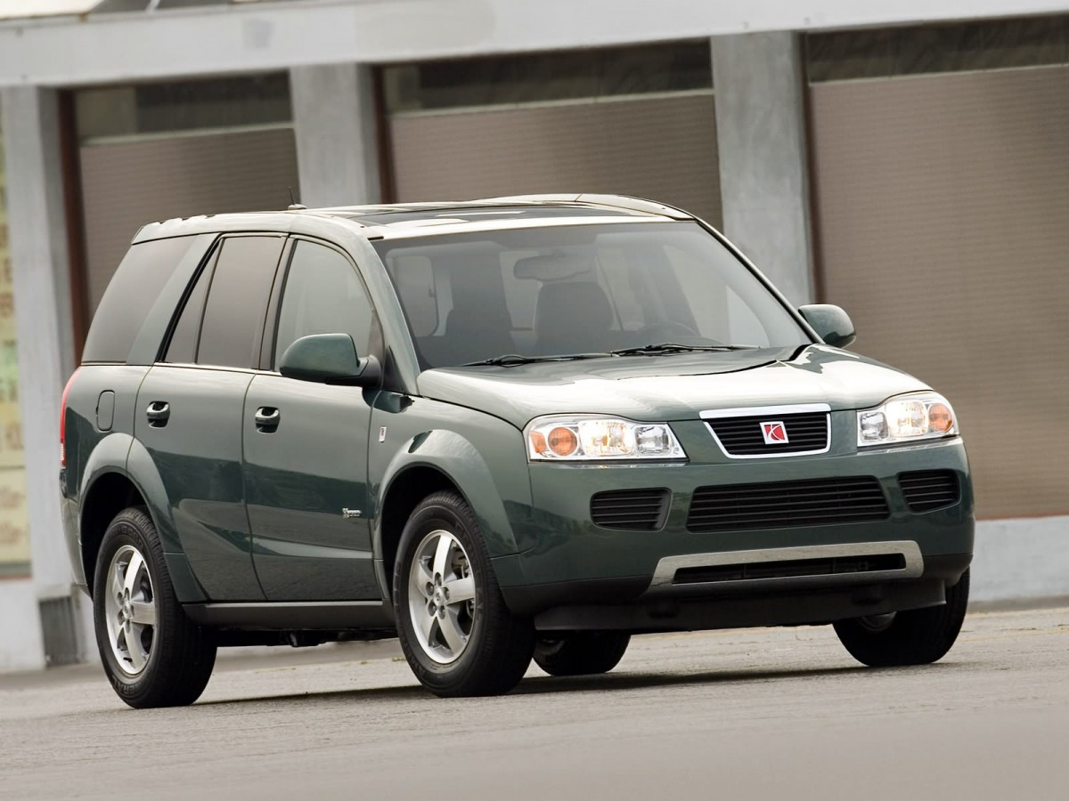 Curbside classic 2002 saturn vue just enough too late for starters there was the rather unfortunate facelift bestowed on it for the 2006 model year this is what i was on about the design being generic but vanachro Images