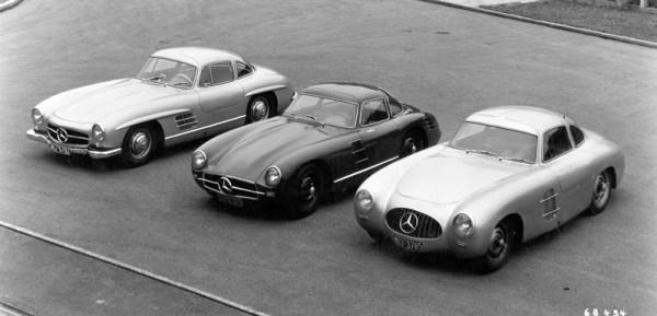 Mercedes-Benz SL-Class design history
