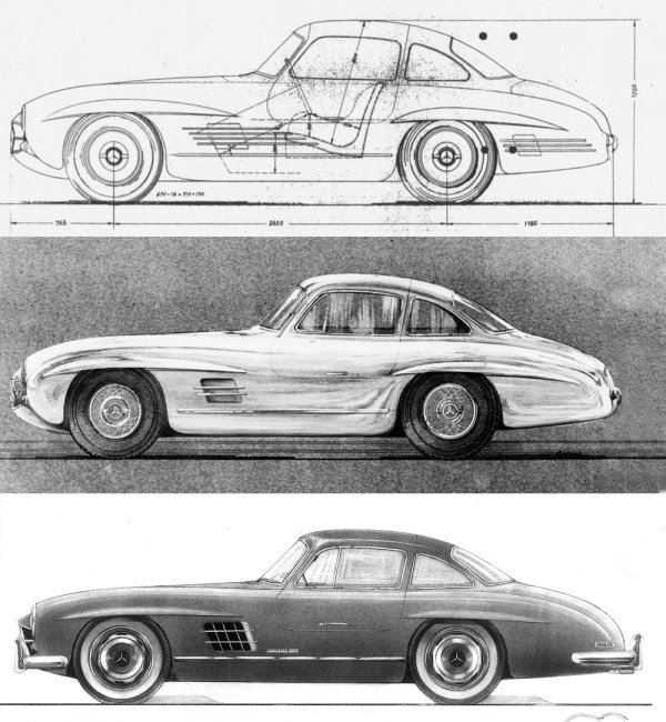 Mercedes-Benz 230 SL (W 113, 1963 to 1971), 1963 to 1967
