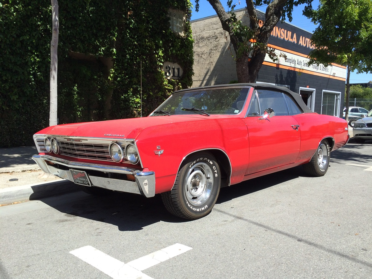 CC Outtake: 1967 Chevelle Malibu Convertible – Another Second Year ...
