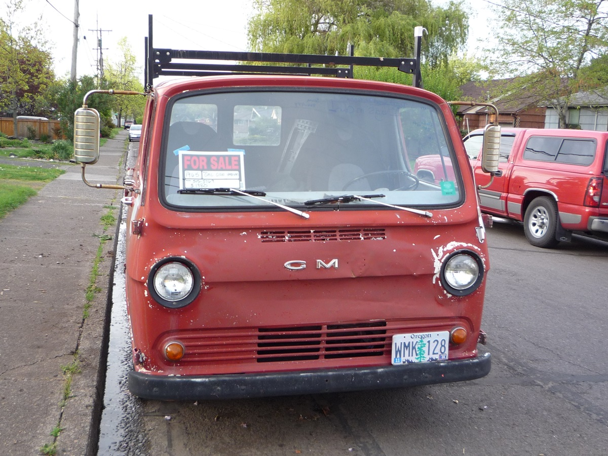 And Of Course GMC Got Its Version With That Eminently Memorable Name Handi Van They Appeared In 1964 By 1965 The Corvair Vans Were History