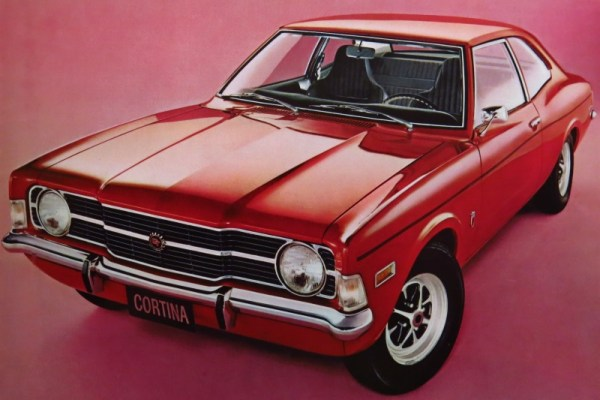 Cdn 1971 Ford Cortina GT