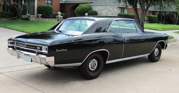 Chevelle 1966 SS 396 black r