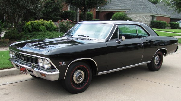 Chevelle 1966 SS 396 black