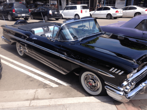 Chevrolet 1958 Impala conv fq