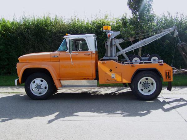 Chevrolet truck 1962 tow