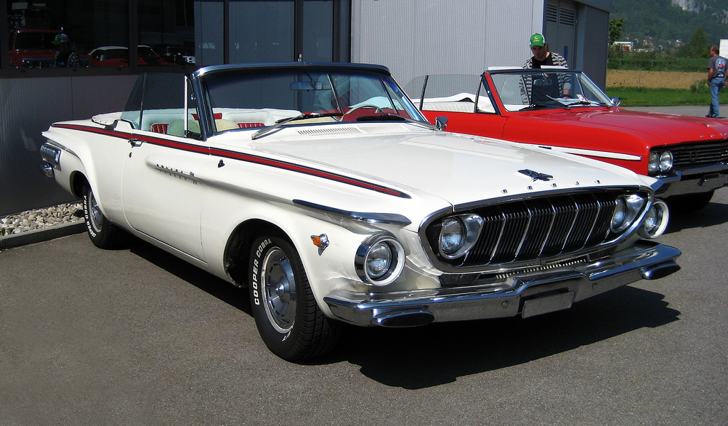 Curbside Clic; 1964 Dodge Polara Convertible – Engelization ...