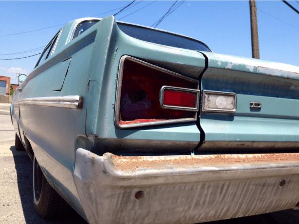 Dodge 1966 coronet 2 dr rr