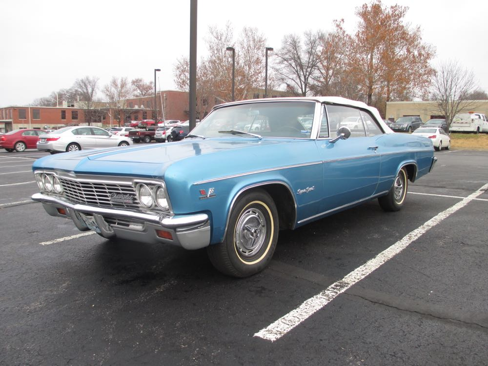 curbside classic 1966 chevrolet impala ss convertible holding steady in capricious times. Black Bedroom Furniture Sets. Home Design Ideas