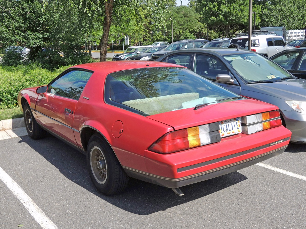 Curbside Classic: 1983 Chevrolet Camaro Berlinetta – The Gold-Trimmed Camaro  With An Italian Name