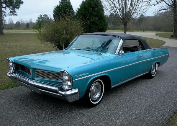 Pontiac 1963 conv bl