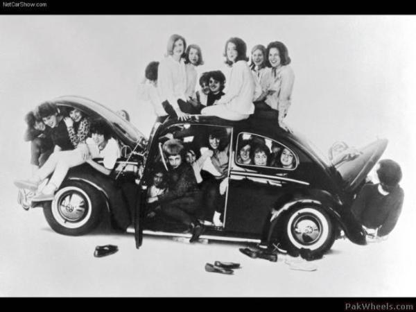 VW beetle stuffed
