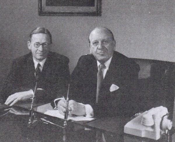 Willliam and Reginald Rootes