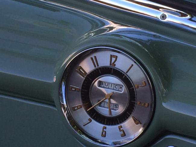 buick super clock