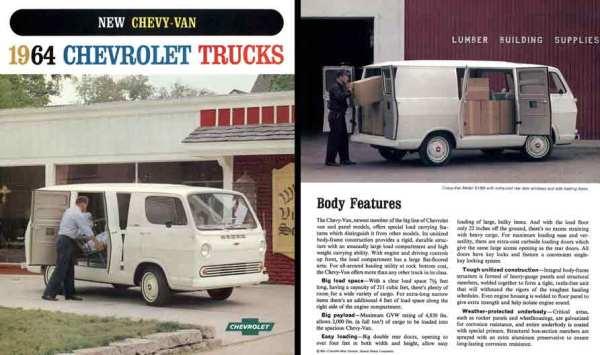 chevrolet truck 1964 Chevy Van_id70