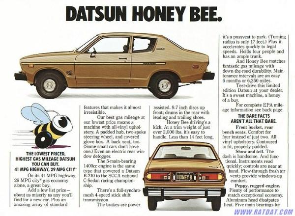 datsun b210 honeybee