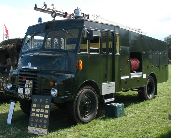 1956 Bedford RLHZ Self Propelled Pump .8