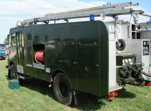 1956 Bedford RLHZ Self Propelled Pump 5.