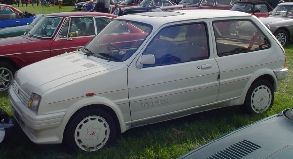 1987 mg metro turbo 2