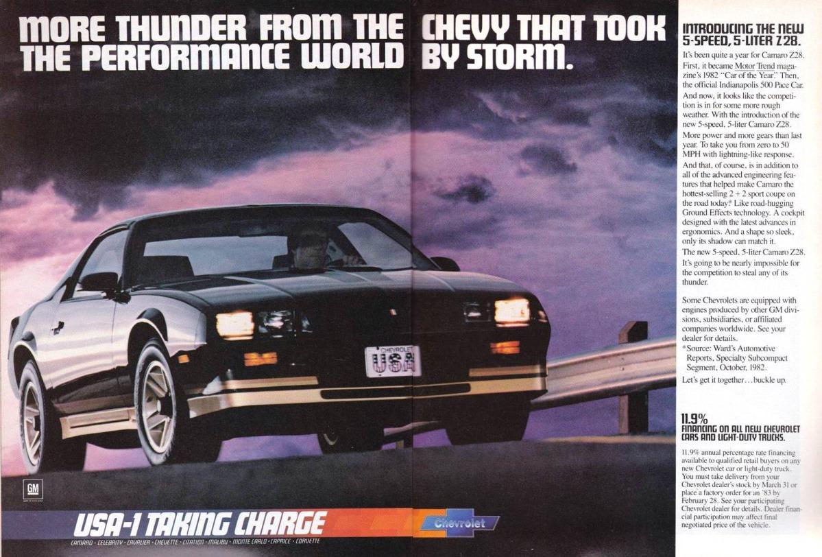 Curbside Classic: 1983 Chevrolet Camaro Berlinetta – The