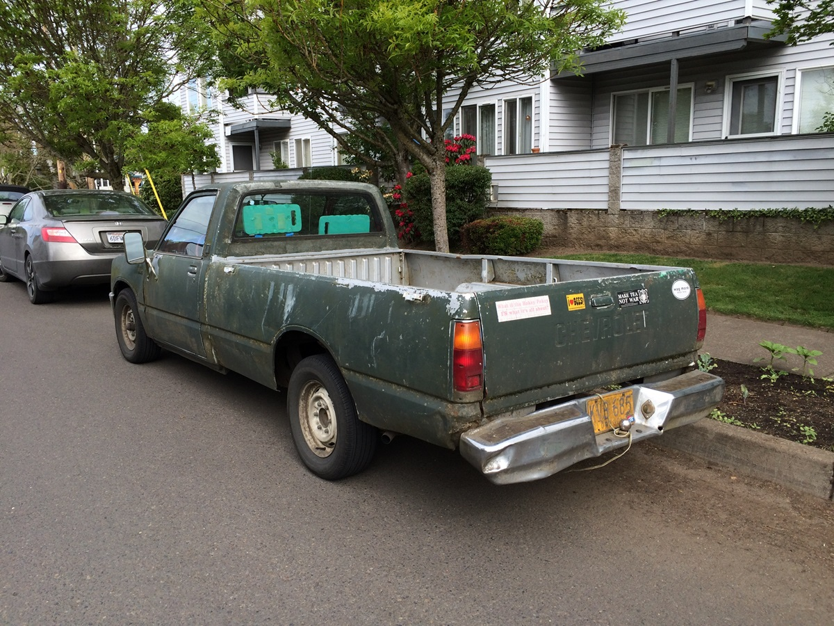 Cc Outtake 1981 Or 1982 Chevrolet Luv Diesel A Survivor 1980 Chevy Specs This Otherwise Known As An Isuzu Faster Pup Is Perhaps The Ultimate Representative Of Breed These Engines Seemingly