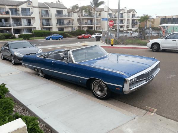 Chrysler 1969 Newport conv fq