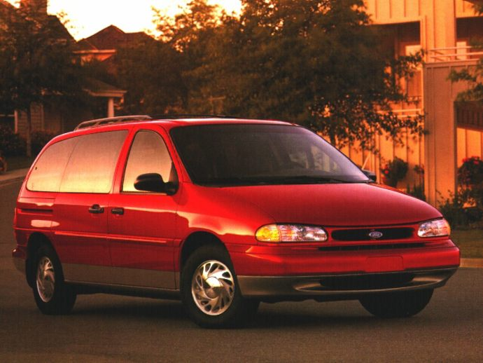 Coal 1996 Ford Windstar Anomaly Curbside Classic