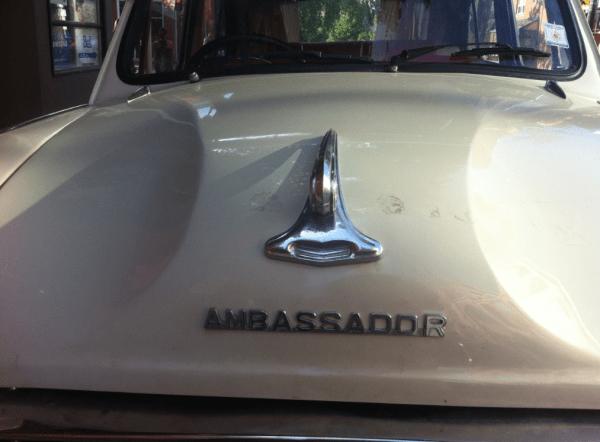 Hindustan Ambassador hood