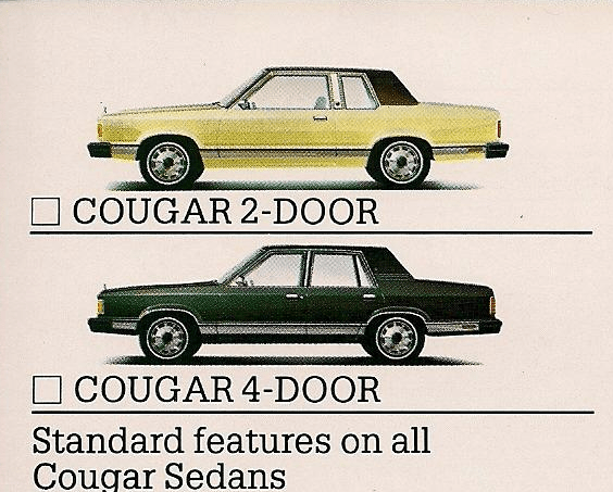 Mercury 1981 cougar brochure 3