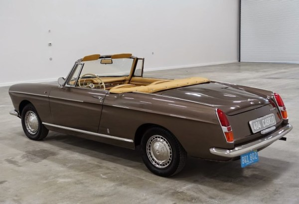 peugeot 404 cabriolet 1966 rear. Black Bedroom Furniture Sets. Home Design Ideas
