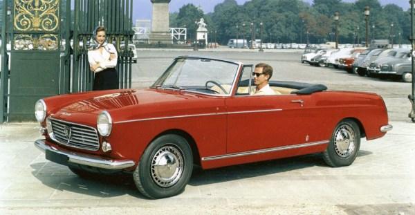 Peugeot 404 Conv red