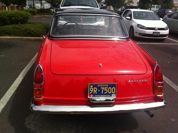 Peugeot 404 cabrio red Eugene 3