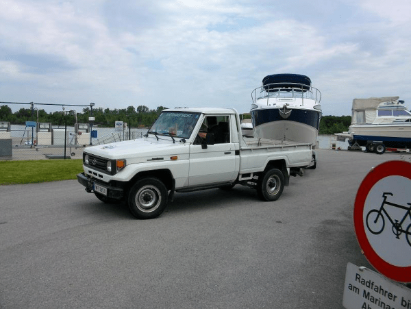 Toyota Land Cruiser tow rig 2