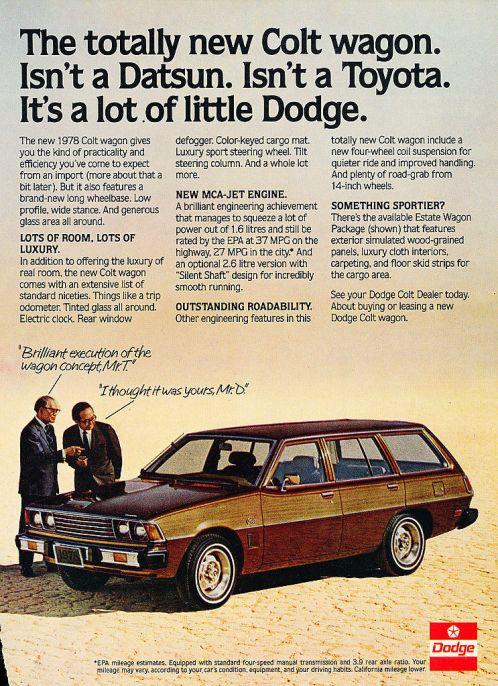 dodge colt wagon