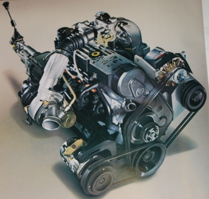 merkur xr4ti engine