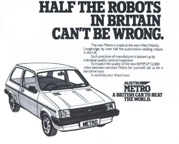 metro robot