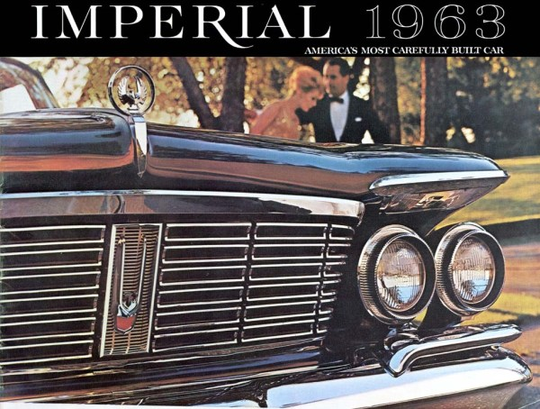 1963 Imperial brochure cover