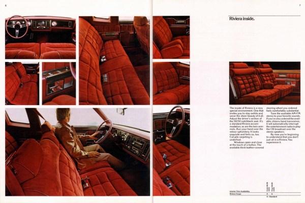 1977 buick riviera interior brochure