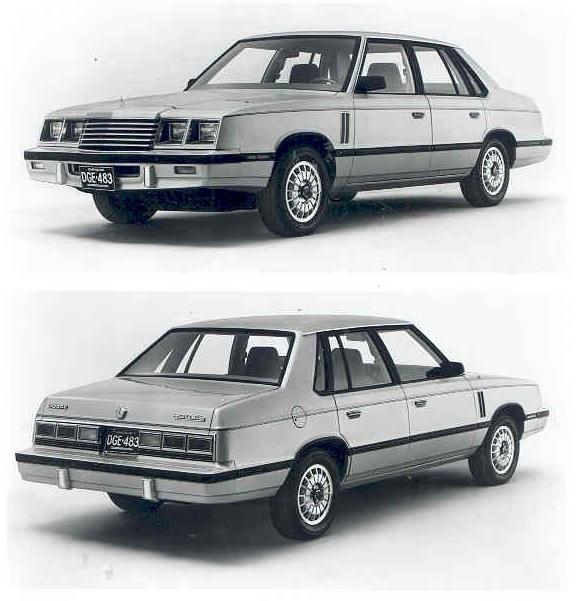 1983 dodge 600 es