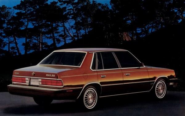 1987 dodge 600 1