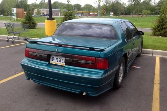 1991-93 Mercury Cougar e