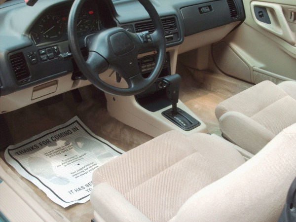 1991 Integra interior instrument panel