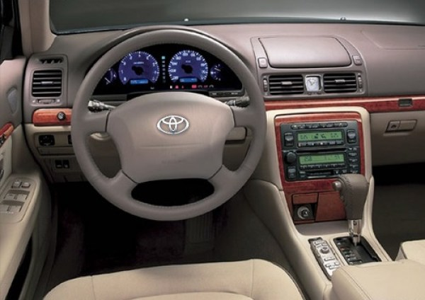 Toyota Origin Interior