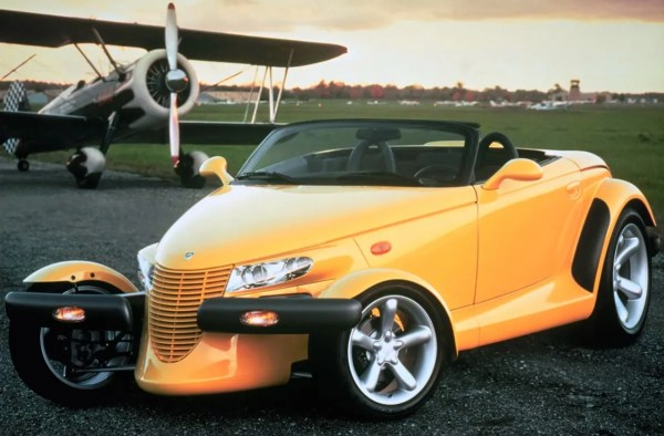 Yellow Plymouth Prowler