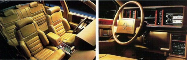 cadillac seville sts interior 1990