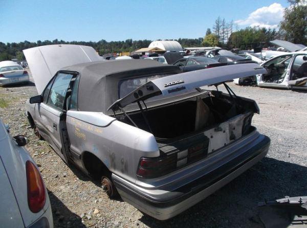 canadiancatgreen dodge shadow convertible