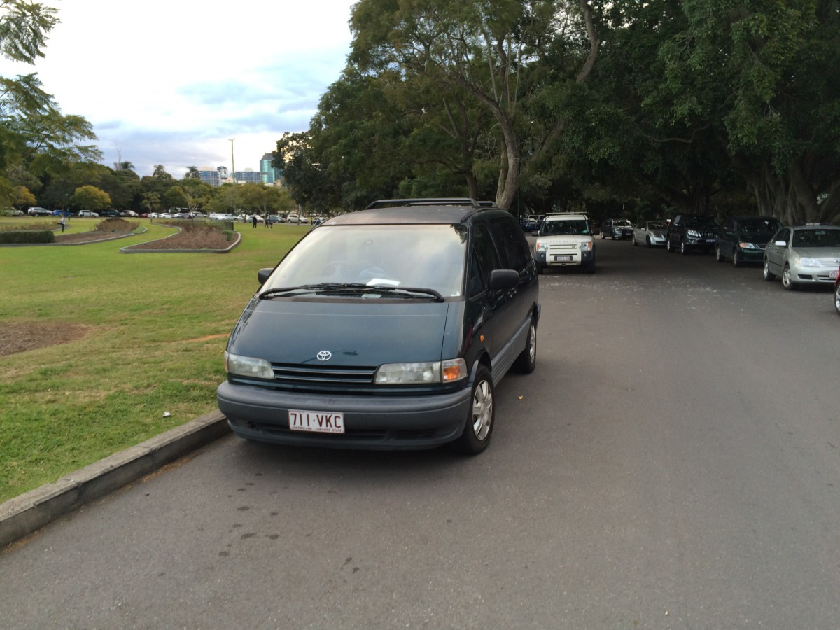 Curbside Classic 1991 97 Toyota Previa Tarago The First And Final Fuel Filter Location 1