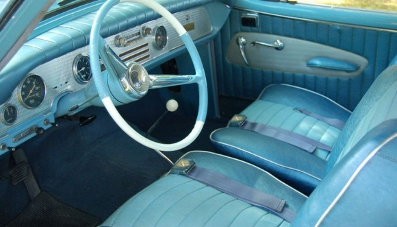 I somehow neglected to get an interior shot: this one borrowed from the Internet.