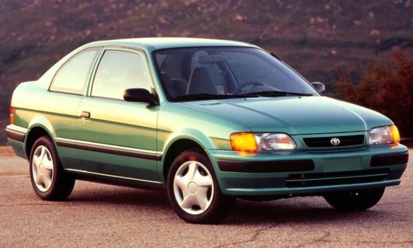1997 Toyota Tercel 2-Door CE Sedan.