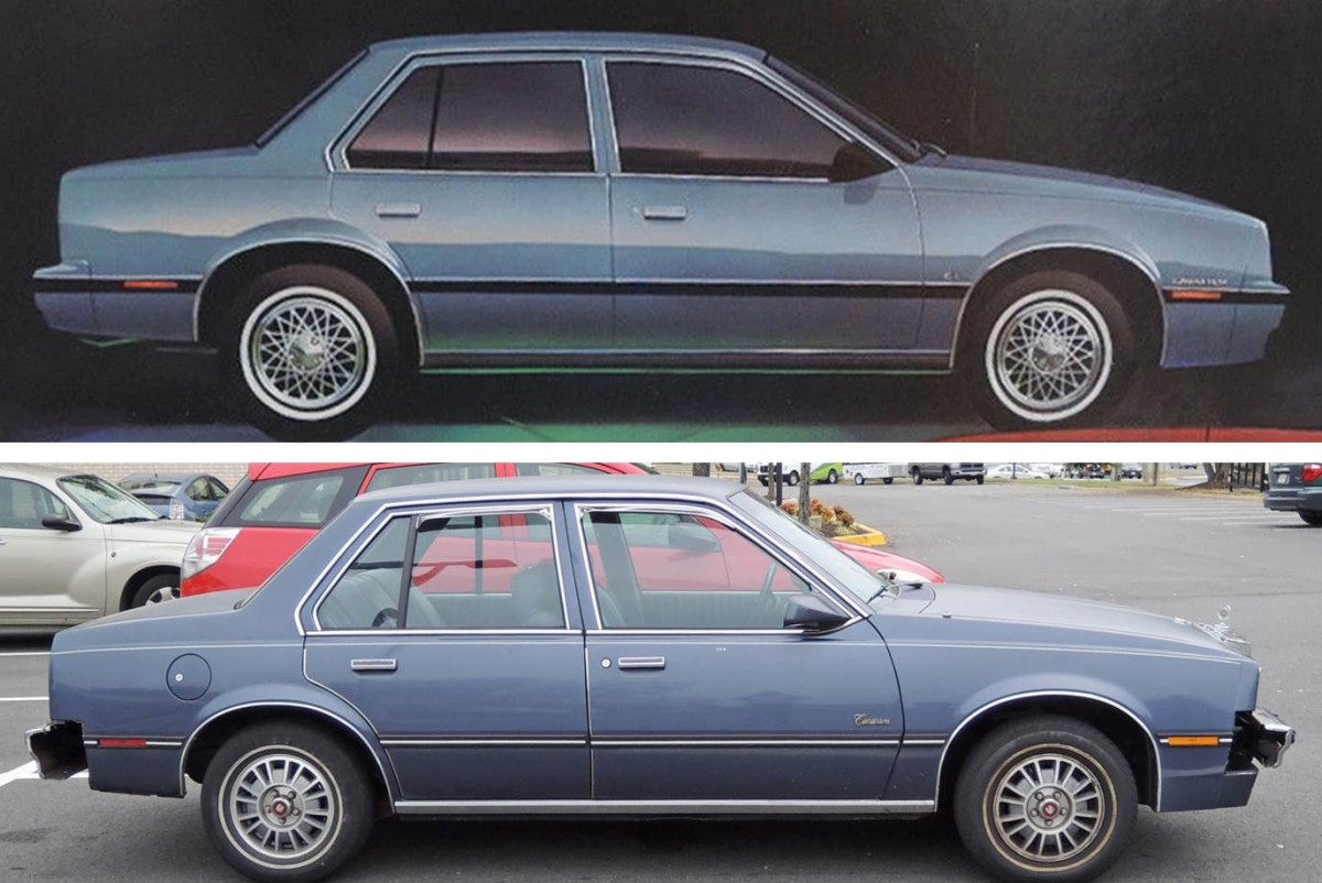Comparison 1 curbside classic 1984 cadillac cimarron poor execution meets  at webbmarketing.co